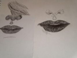Lips by beastwithapencil