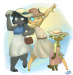 Hats and Dresses! by lemondragon19