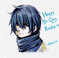Happy Birthday KAITO by arrianee