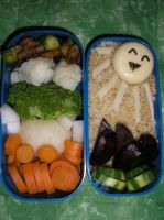 Beginning of summer bento by Flicksi