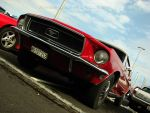 red pony-car by AmericanMuscle