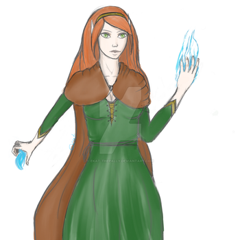 Sorceress by ekat-thepally