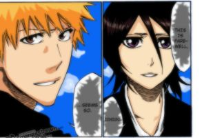 Farewell Rukia Bleach ch.423 by scamed