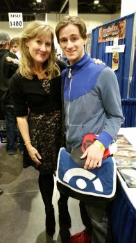 Veronica Taylor at ComicCon! by JackEmerald
