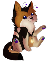 Spirit Chibi -point commission- by JamKitsune