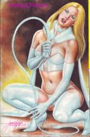 EMMA FROST WHITE QUEEN by JUN DE FELIPE (07012014) by rodelsm21
