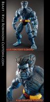 Custom Beast Action Figure by KyleRobinsonCustoms