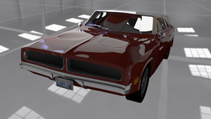 Dodge charger 1969 3D model by Nekoshiba