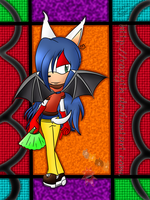 ~.: My Character Lorelai the Bat.:~ by Celeste-the-Cat