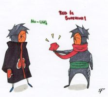 Tobi-Toby Conflict by SevenTreasuresxxx
