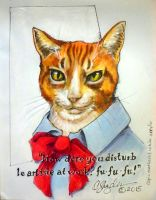 Le artiste chat by MommySpike