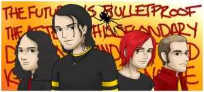 MCR - Fantastic 4 by kelly42fox