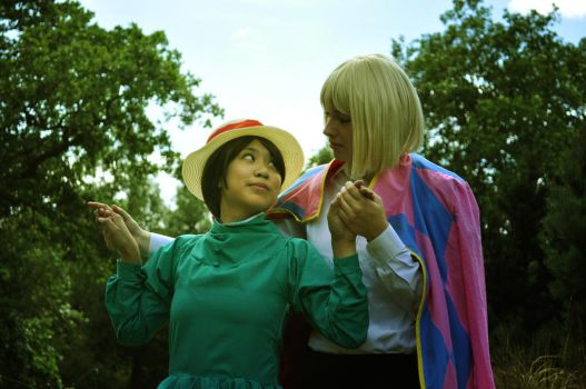 Howl's Moving Castle - Hold My Hand by mei-chama