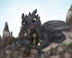 How to train your dragon by cerb0980