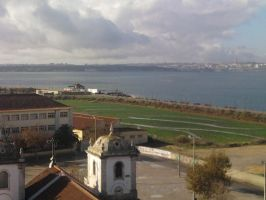 The Clouds and Me - The River Tejo -2008-02 by Kay-March