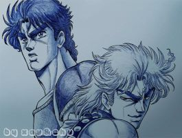 Phantom Blood ED by xauychu
