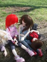 a chat on a sunny day by child-of-aros