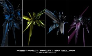 C4D Abstractpack 1 by GoJaa