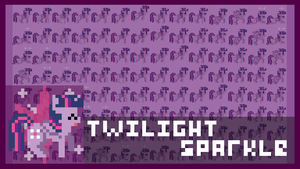 Twilight Sparkle RETRO Wallpaper by Zztfox