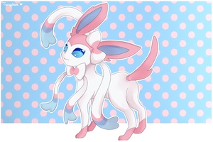 Ninfia / Sylveon by Twigileia