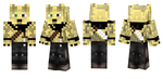 Tan Athro Coyote (Preview) Minecraft Skin by SubplaysMinecraft