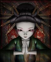 Geisha Doll by LucieG