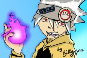 Soul Eater Evans Fanart by SillyxSora