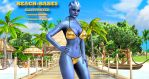 Liara T'Soni   BEACH-BABES ILLUSTRATED   2-18-2015 by blw7920