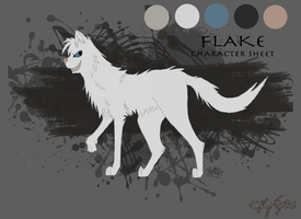 Flake Character Sheet by InkyShade