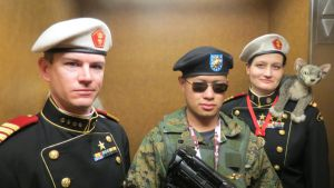 Troops who wear Berets by Ghost141
