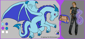 Max the Dragon Shapeshifter by SassyDragon18