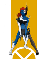 X-Series:  Mystique by SubduedMoon