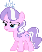 Diamond Tiara Vector (My Little Pony: FIM) by PonyEngineer