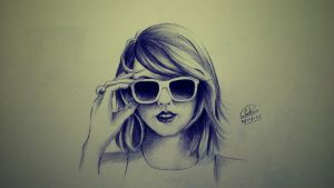 Colored Pencils - Taylor Swift by chedil