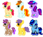 MLP shipping adoptables (OPEN)  by NoodlePastaAdopts