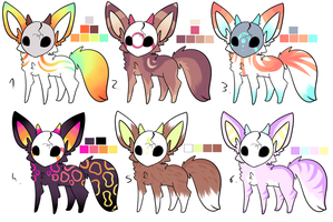 CLOSED - Maskees Adoptables 344 by LeaAdoptables