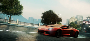 Lamborghini aventador Nfs Most Wanted 2012 by iqbalherindra