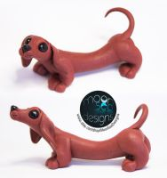 Pippi | Polymer Clay Sculpture by Ilenora