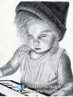 Child drawing (Lux Atkin) by Sharsel
