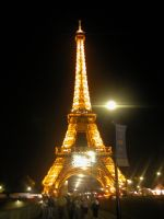 Eiffel At Night II by Stienf9