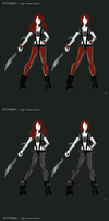 BloodRayne Betrayal CONCEPTS 7 by jezzy