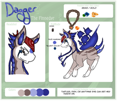 Reference :: Dagger the Finnedyr by Hollowed-Chimera