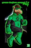 Green Lantern of Melmac by thesometimers