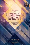 Urban Beat Flyer by styleWish