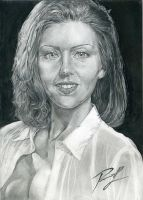 Portrait Andrea Parker by Dioneth