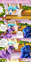 Comic: Alicorn Rebirth by pridark