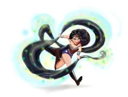 Wonder Woman Disney Tangled Mashup by rudecherub