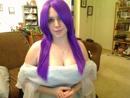 Fun with wigs. Purple 4 by Airi1028
