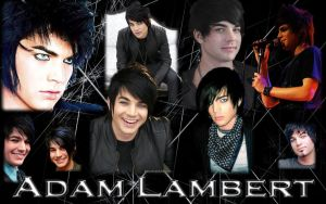 Adam Lambert wallpaper by MangaGirl12