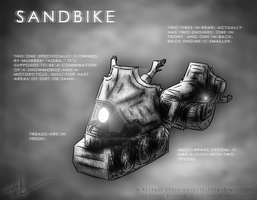 Sandbike Concept Thing by MoonstalkerWerewolf
